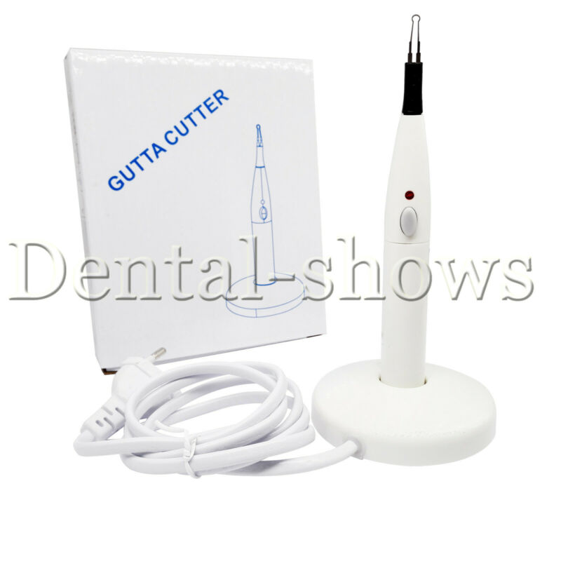 Dental Cordless Gutta Percha Tooth Teeth Gum Cutter Endo Gutta Cutter + 4 Tips