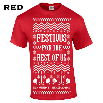 Festivus for the rest of us Mens T-Shirt funny gift ugly christmas sweater 534 (Festivus For The Rest Of Us Shirt)