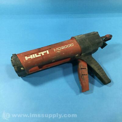 Hilti Md2000 Adhesive Dispenser Epoxy Gun Usip