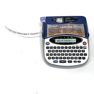 Brother P-touch Pt-1750 Electronic Label Maker Thermal Printer Free Shipping