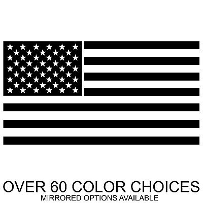 Stickers And More (Custom USA American Flag Decal Sticker for Car Truck Jeep Bike and More)