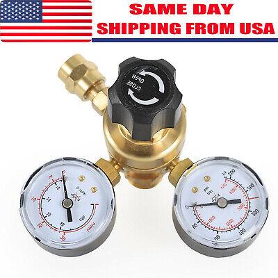 Mig Tig Flow Meter Regulator Argon Co2 Welding Regulator Gauge Gas Welder Cga580