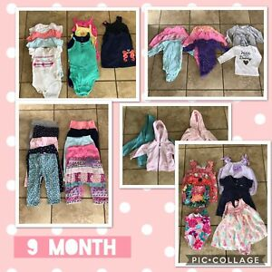 9 Month Girls Clothing Lot