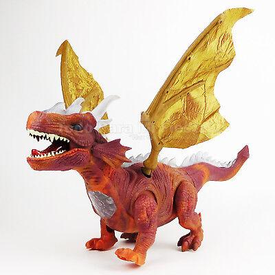 Walking Dinosaur Kids Toy Dragon With Lights Sound Children Gift Dinosaurio - Dragon Dinosaur