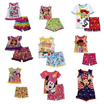 Minnie Mouse Sofia Toy Story Minions Doc McStuffins Girls' 2-Pc Pajama Set - Toy Story 2 Girl