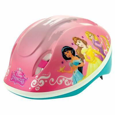Disney Princess Casco de Seguridad Niño Niña Rosa Cabeza Talla 48cm-54cm