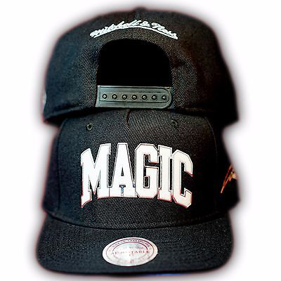 Original Mitchell & Ness Orlando Magic NBA Snapback Cap EU179 Schwarz Orlando Magic Snap