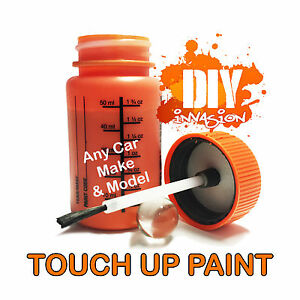 Mitsubishi auto touch up paint 50ml car lancer mirage for Toyota paint touch up pen