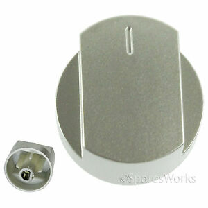 Genuine STOVES Oven Cooker Hob Control Knob Switch Silver 444445715 444445730