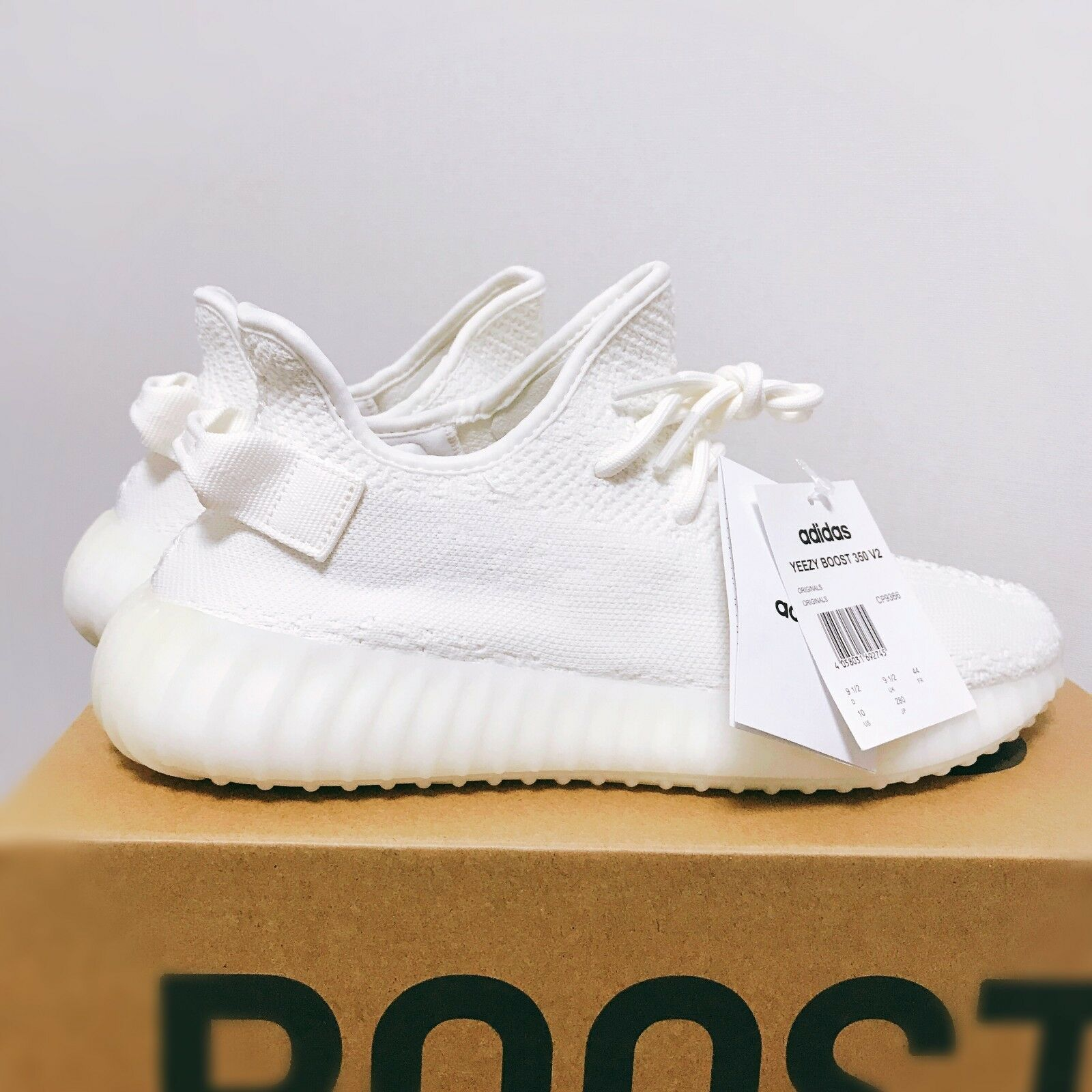 Yeezy 350 White Trainers   Triple White Yeezy Boost 350