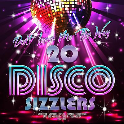 DON'T LEAVE ME THIS WAY 20 DISCO SIZZLERS 2-LP VINYL (PRE-Release 31/8/2018)