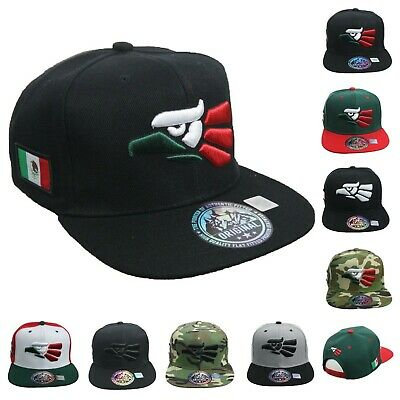 Hecho En Mexico Baseball Cap Mexican Flat Bill Snapback Hip Hop Workout Sun Hat