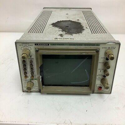 Leader Lbo 5860l Waveform Monitor