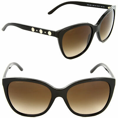 VERSACE Sunglasses VE 4281 GB1/13 Black / Brown Gradient Lens [57-17-140]