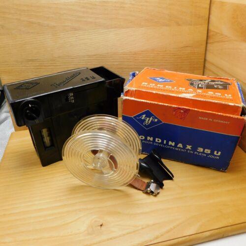 Agfa Rondinax 35U Daylight Developing Tank for 35mm Film with Original Box PARTS