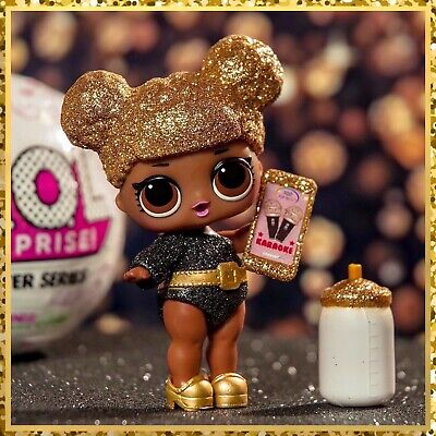 LOL Surprise Glitter Series 1 Queen Bee in Verified Ball Ultra Rare *NEW* Sealed