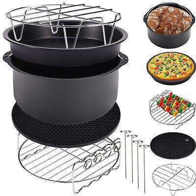 Accesorios para Freidoras de aire caliente Air Fryer 9 piezas Cocina Reposteria