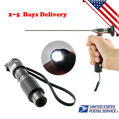 10w Handheld Cold Light Source Fit For Compatible Endoscope Sinuscope Fda