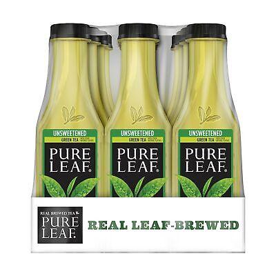Pure Leaf Iced Tea, Unsweetened Green Tea, Real Brewed Tea, 0 Calories, 18.5 ...