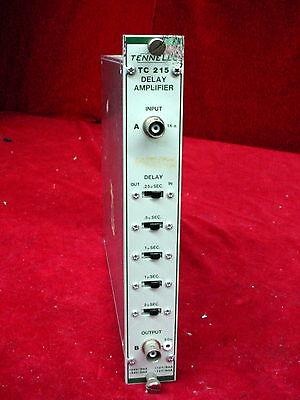Tennelec Tc 310 Linear Gate Stretcher Nim Bin Plug-in Module Tc310