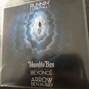 NAUGHTY BOY FT BEYONCE & ARROW BENJAMIN 'RUNNIN' NEW  VIRGIN 1 TRACK UK PROMO CD
