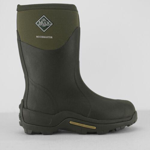 Muck Boots Muckmaster Mid Unisexe Mens Womens Rain Wellies Wellington Boots Black