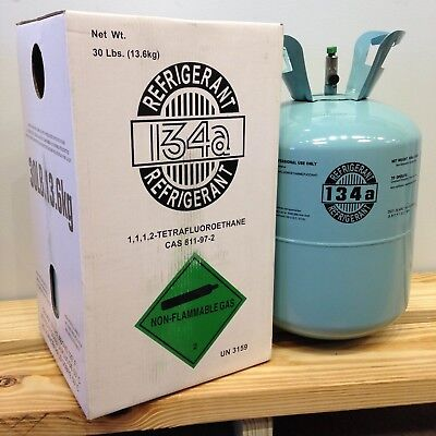 NEW R134a R-134a R 134a Refrigerant 30lb Tank Made in USA **EPA CERT. REQUIRED* for sale  Goleta