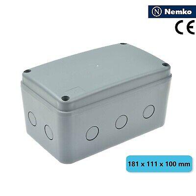 Ip66 Waterproof Electrical Junction Box Enclosure Case Abs 181 X 111 X 100mm