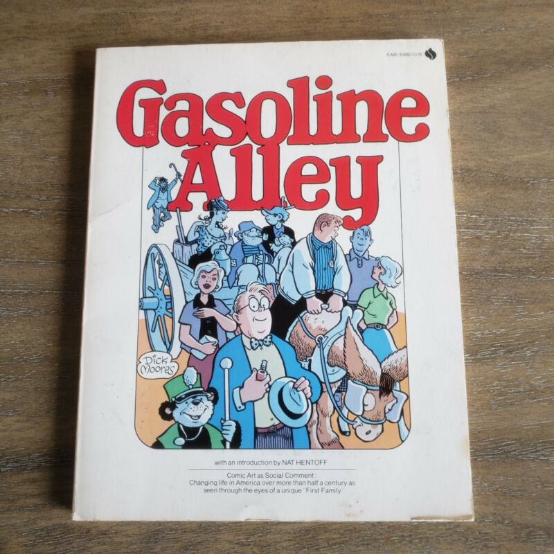 Gasoline Alley by Dick Moore Softcover Avon Books 1976