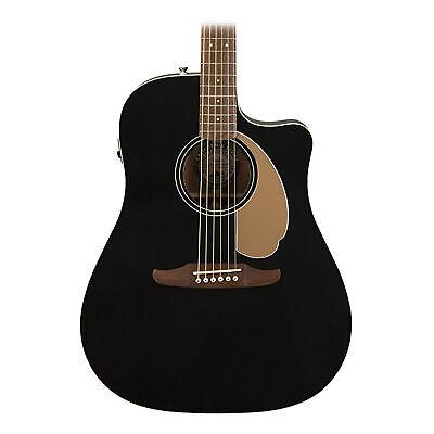 Fender Redondo Player - California Series Acoustic Guitar - Jetty Black