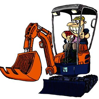 Mini Excavator Hire $195 per day