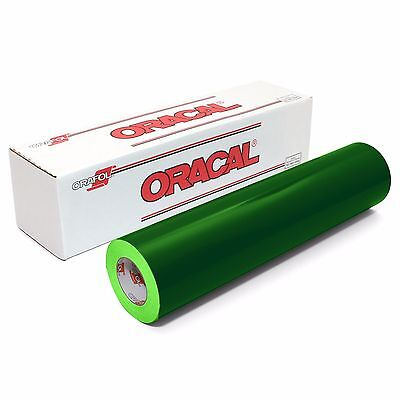ORACAL 651 Outdoor Permanent Vinyl - FOREST GREEN 12in x 10ft Roll