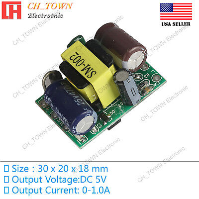Ac-dc 5.0v 1.0a 5w Power Supply Buck Converter Step Down Module High Quality Us