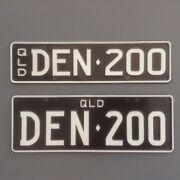 Landcruiser 200 Series Personal Rego Plate Hopetoun Ravensthorpe Area Preview