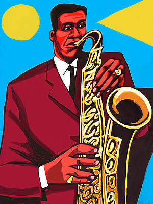 - WAYNE SHORTER PRINT poster jazz tenor saxophone sax speak no evil cd blue note