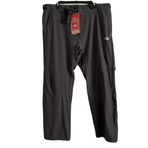"""THE NORTH FACE Mens 38"""" Outbound Hiking Pants Gray Zip Poc"""