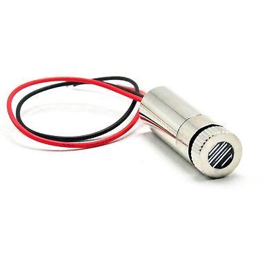 Line Laser 405nm 5mw Focusable Violet-blue Diode Module 3-5v Cable 12x35mm