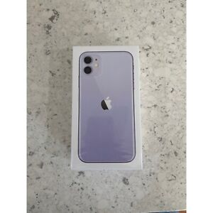 iPhone 11 purple 128gb brand new