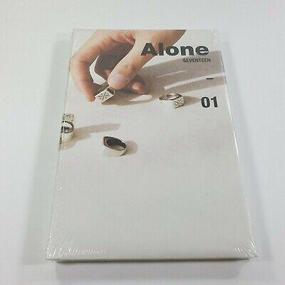 SEVENTEEN 4th Mini album AL1 CD Booklet Sticker Photocard Postcard K-POP Alone