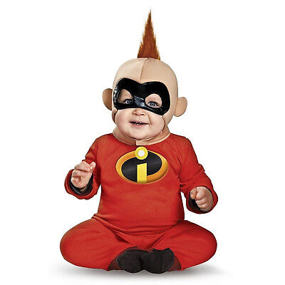 Baby Disney's The Incredibles Jack Jack Halloween Cosplay Costume 6 12 18 - Jack Jack Halloween Costume