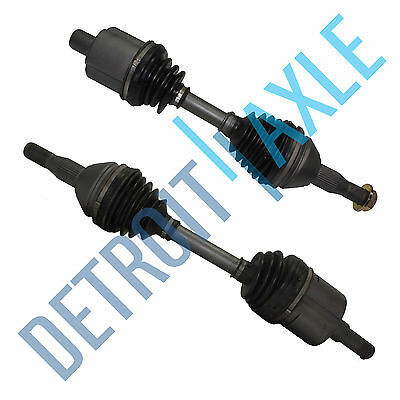 2 Front CV axle shaft Assembly 2000 - 2009 CHEVY IMPALA  W/O Supercharged W/O SS (Chevrolet Impala Supercharger)