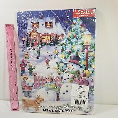 Chocolate Advent Countdown Calendar Winter Wndrlnd - Pop a Door a Day - exp 8-21
