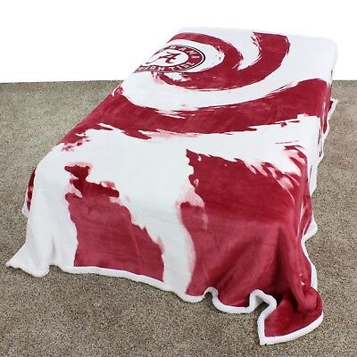 Alabama Crimson Tide Plush Throw - Alabama Crimson Tide College Covers 63 x 86 Soft Sherpa Plush Throw Blanket