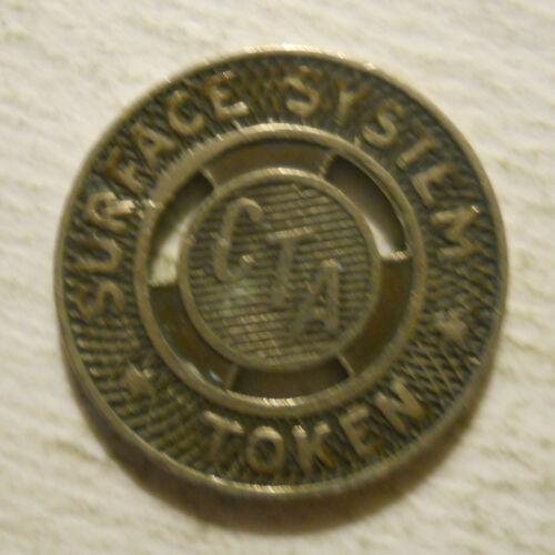Chicago Transit Authority (Illinois) transit token - IL150AB