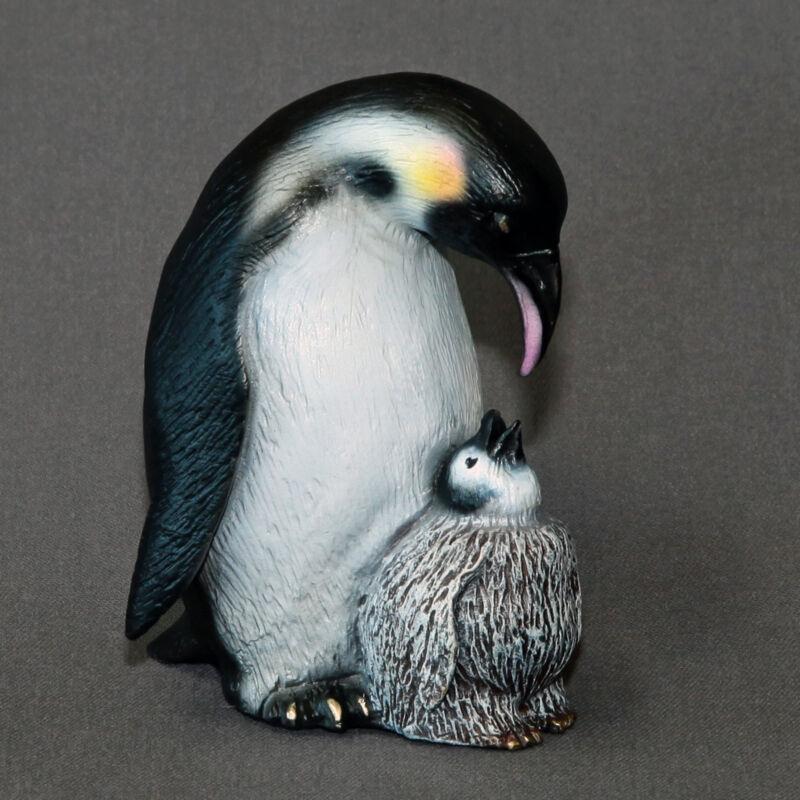Fantastic Penguin Bronze Sculpture Figurine Aquatic Art Signed Limited Edition