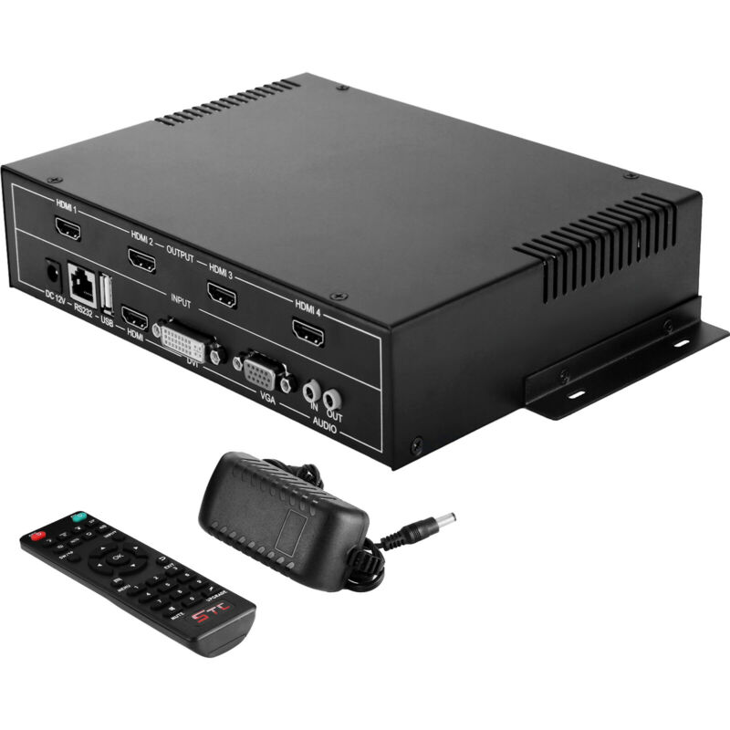 2x2 TV22 4 Channel Video Wall Controller HDMI Outputs multi-view 1080P processor