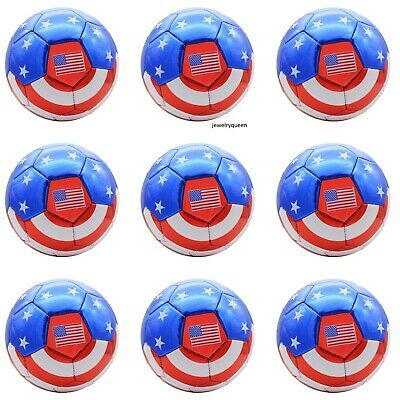 USA Flag Football Soccer Ball All Weather Sporting Goods US Official Size 5 Lots