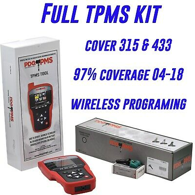 24 Universal TPMS Kits w scanner cover almost every car on the market