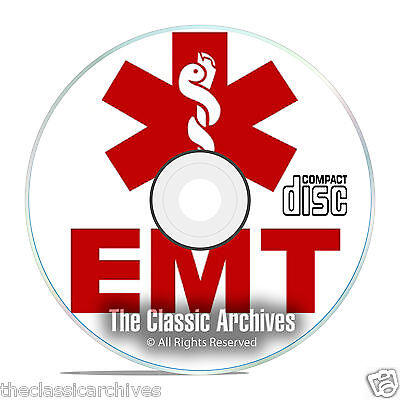 Emergency Medical Paramedic Training Course Books, Learn to be a Medic CD E99