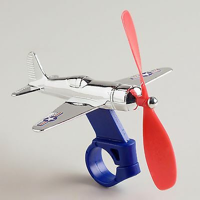 kids BIKE AIRPLANE handlebar retro propellor bicycle tricycle toy by Schylling (New - 9.5 USD)